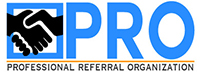 Professional Referral Organization Logo
